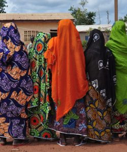 Displaced women in Cameroon